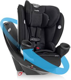 Evenflo GOLD Revolve360 All-In-One Car Seat - Onyx Black