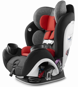 Evenflo GOLD SensorSafe EveryStage All-In-One Convertible Car Seat - Garnet Red