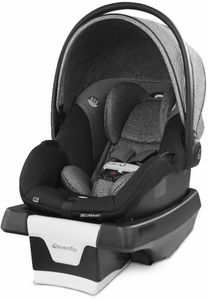 Evenflo GOLD SensorSafe SecureMax Infant Car Seat with SafeZone Load Leg - Moonstone Gray