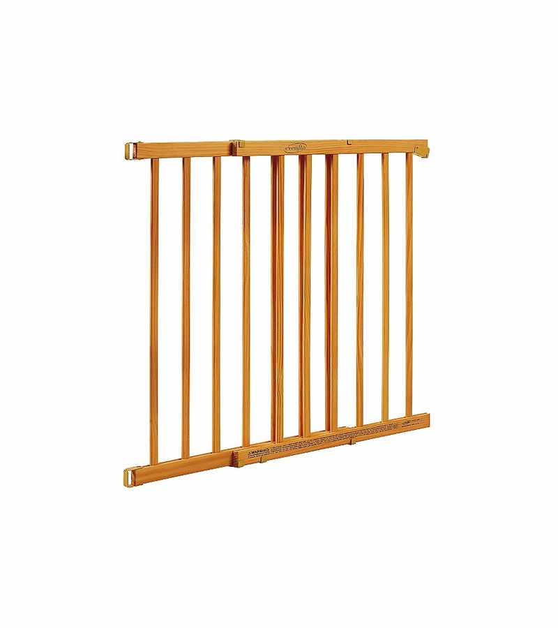 Evenflo Home D 233 Cor Top Of Stair Gate Honey Oak Stain