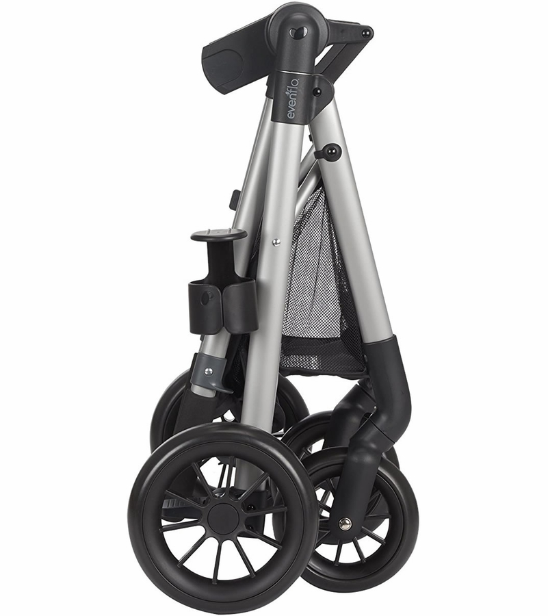Evenflo Pivot Travel System Casual Gray