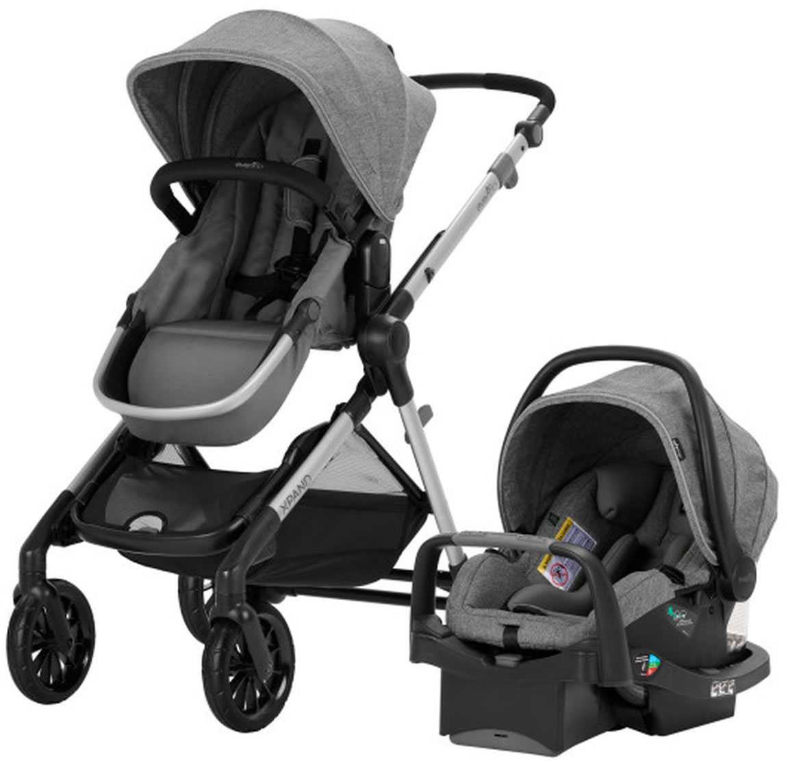 Evenflo Pivot Xpand Modular Travel System with SafeMax ...