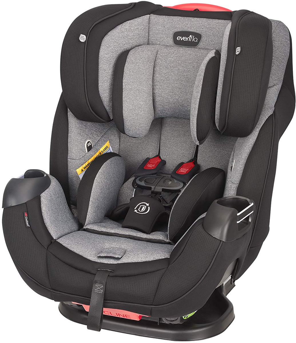 Evenflo Platinum Symphony DLX All In One Car Seat