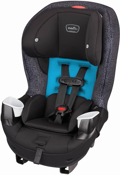 Evenflo Stratos Convertible Car Seat - Glacier