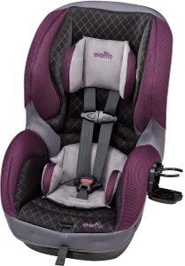 Evenflo SureRide DLX Convertible Car Seat - Sugar Plum