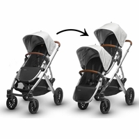 Expandable Single to Double Strollers