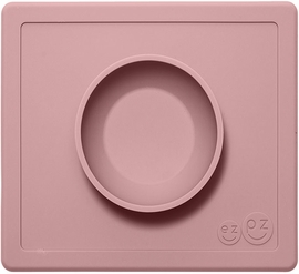 EZPZ Happy Mat Placemat & Bowl - Blush