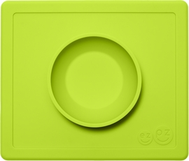 EZPZ Happy Mat Placemat & Bowl - Lime
