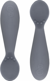 EZPZ Tiny Spoon, Twin Pack - Gray