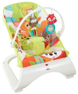 Fisher-Price Comfort Curve Bouncer - Woodland Friends