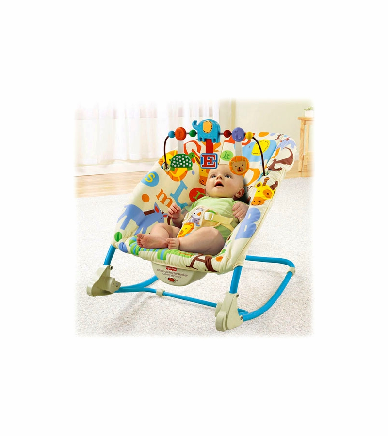 f9153105ab205 Fisher-Price Deluxe Infant-to-Toddler Comfort Rocker