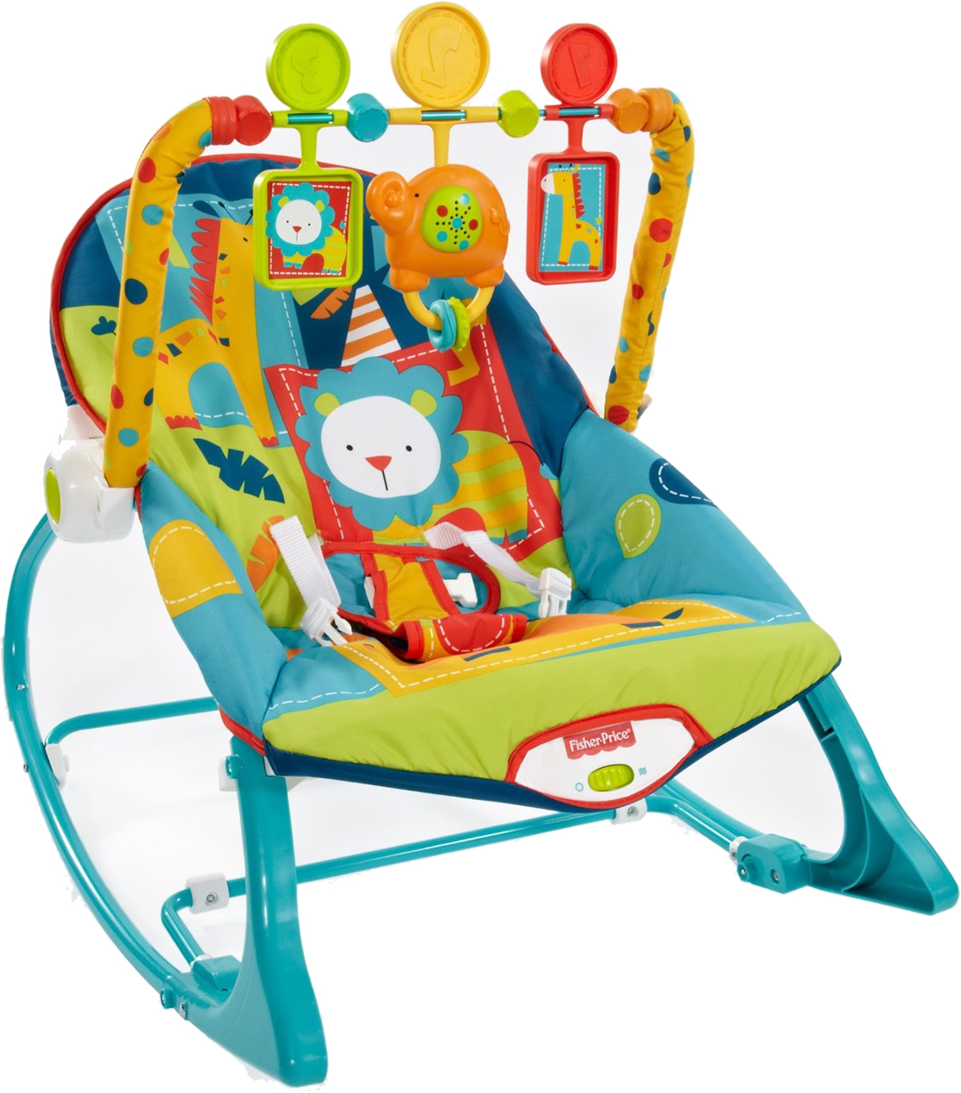 Dark Safari Fisher-Price Infant-to-Toddler Rocker