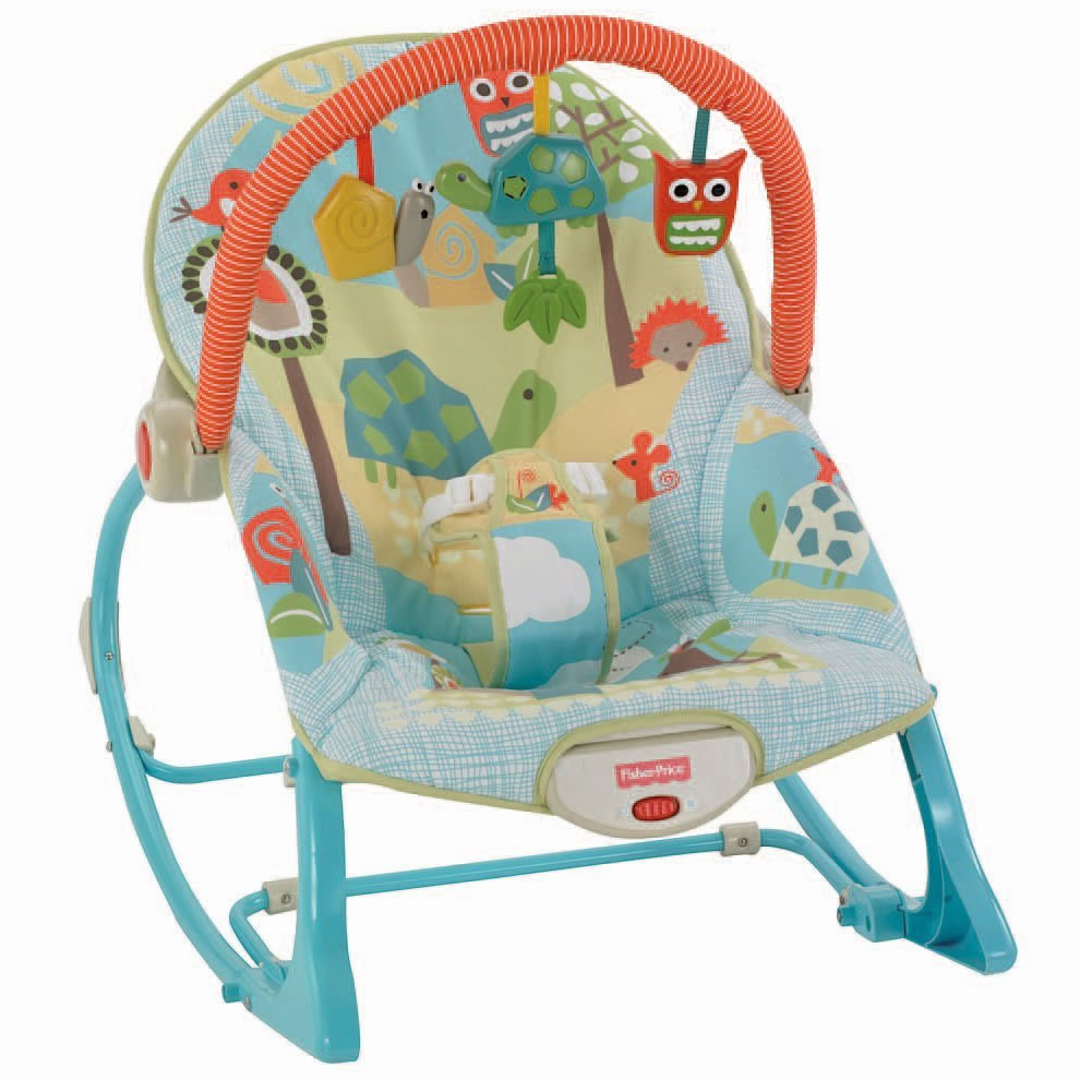 Fisher Price Infant To Toddler Rocker Turtle
