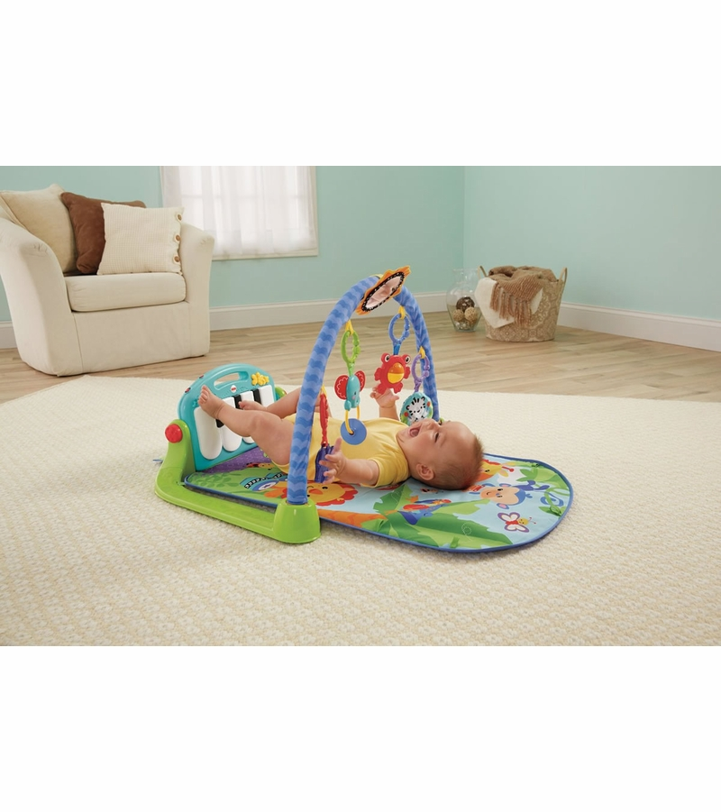 d6ddd982a Fisher-Price Kick   Play Piano Gym - Blue