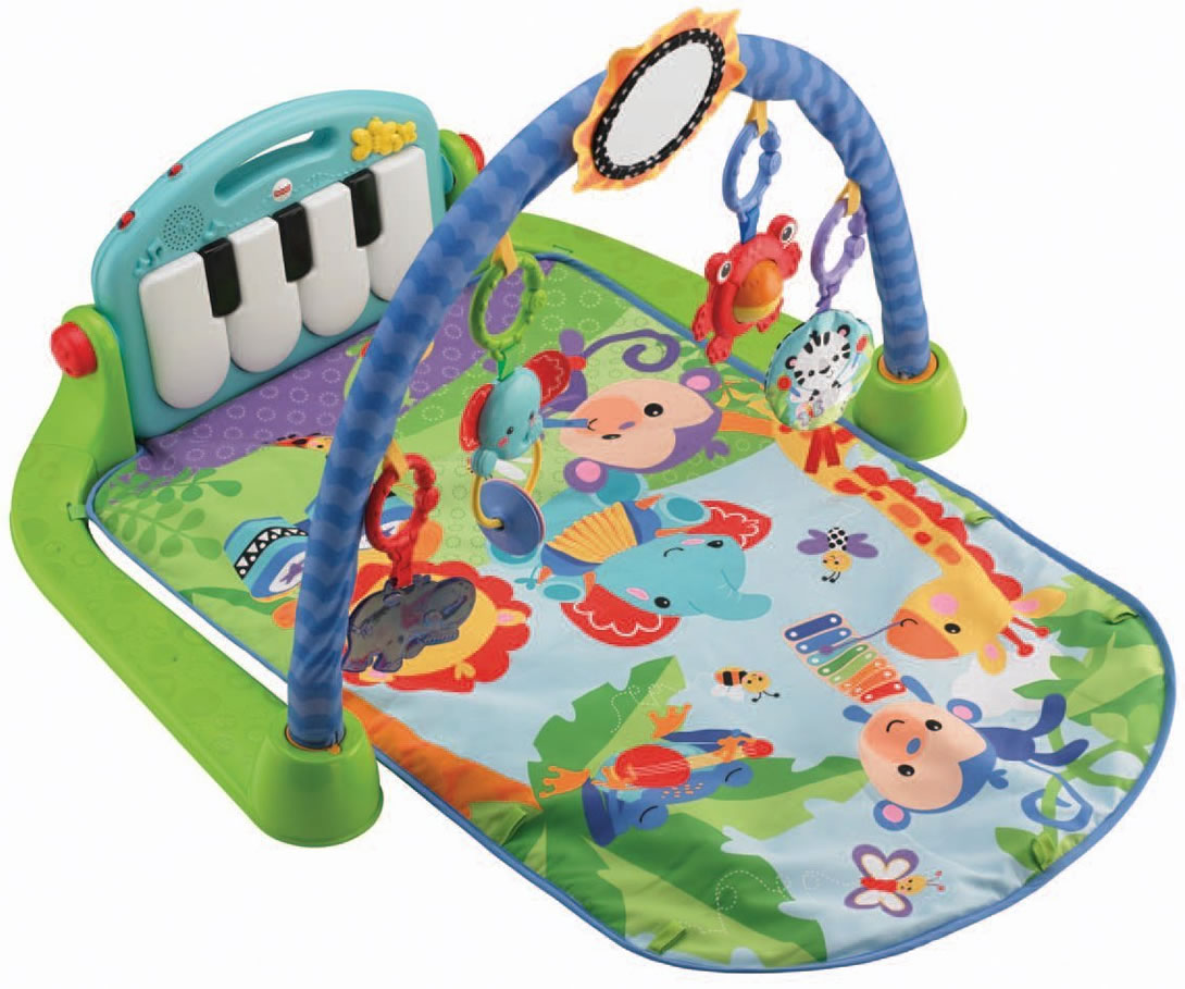 Fisher Price Kick And Play Piano Gym Baby Infant Music Game Develop Toy
