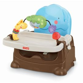 Fisher-Price Luv U Zoo Busy Baby Portable Booster Chair
