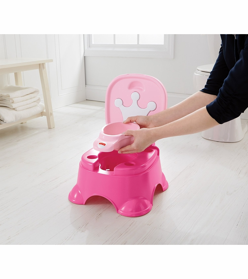 Stupendous Fisher Price Pink Princess Stepstool Potty Pabps2019 Chair Design Images Pabps2019Com