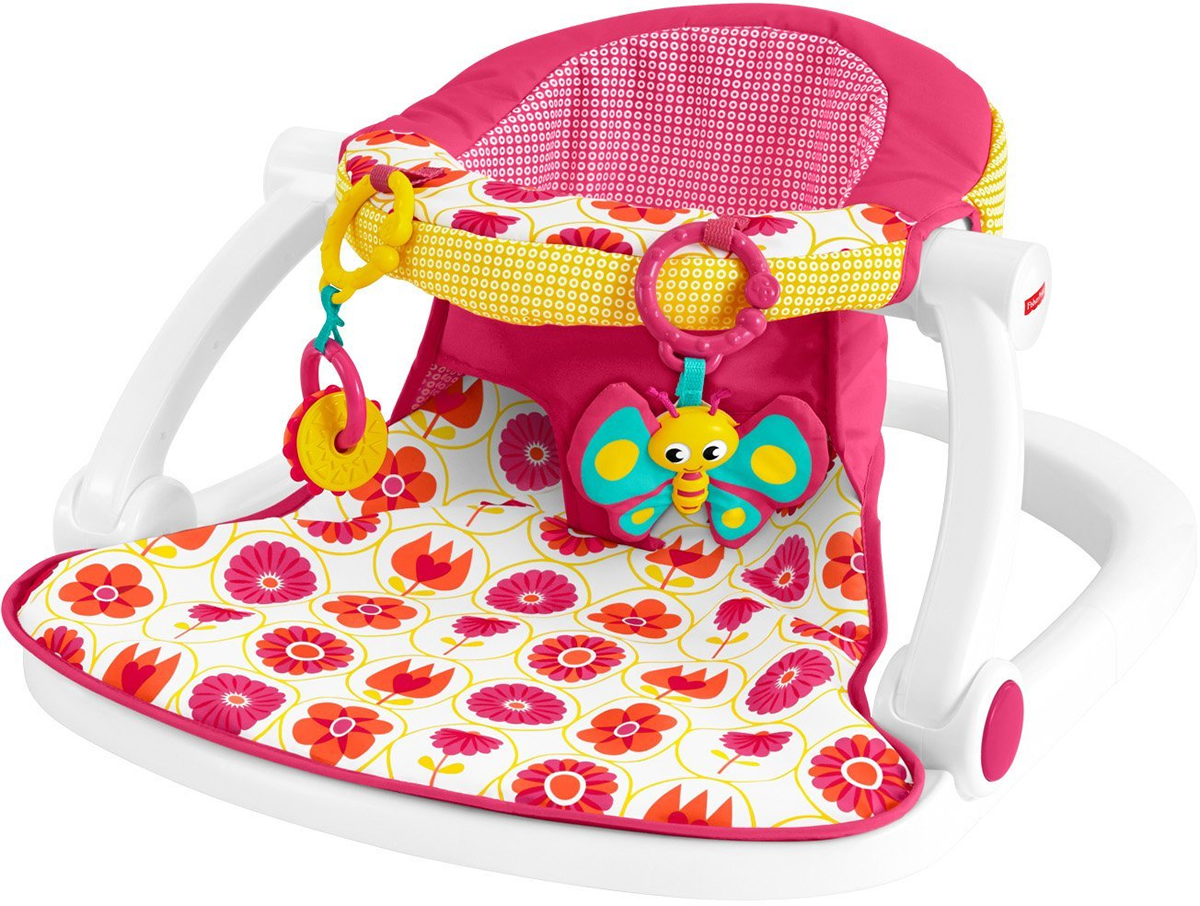 Fantastic Fisher Price Sit Me Up Floor Seat Girl Squirreltailoven Fun Painted Chair Ideas Images Squirreltailovenorg