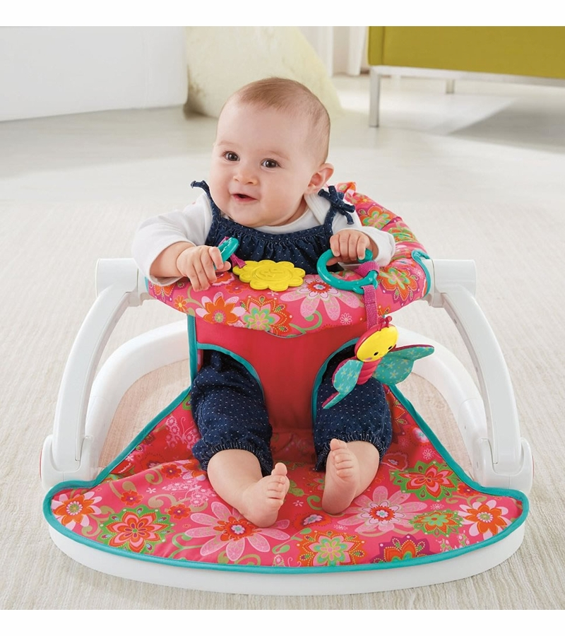 Peachy Fisher Price Sit Me Up Floor Seat Pink Squirreltailoven Fun Painted Chair Ideas Images Squirreltailovenorg