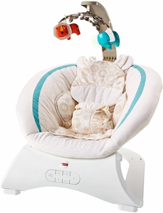 Fisher-Price Soothin Savanna Deluxe Bouncer