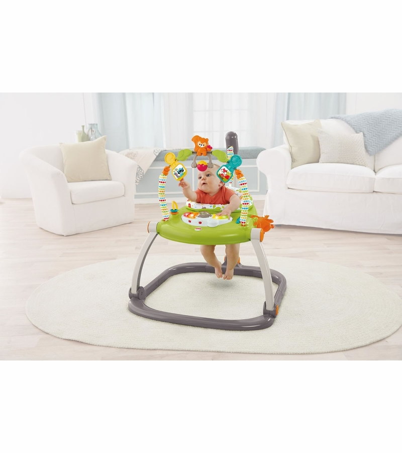 ea5460a02dcb Fisher-Price Woodland Friends Space Saver Jumperoo