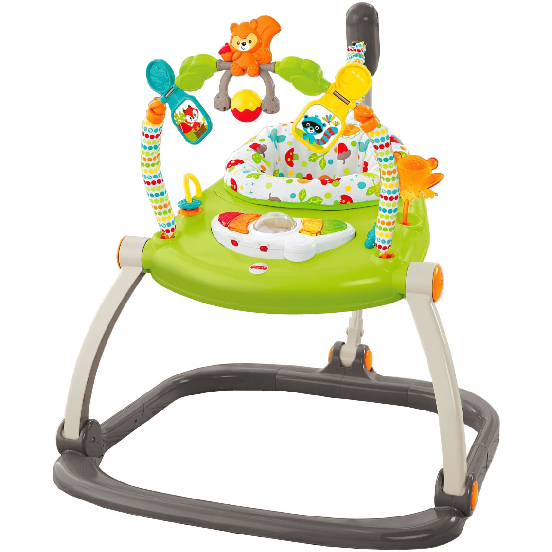 f47fca64eccb Fisher-Price Woodland Friends Space Saver Jumperoo