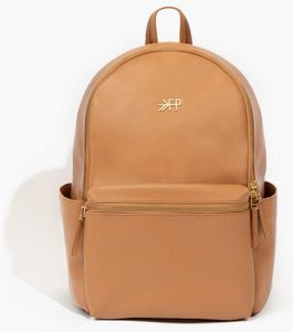 Freshly Picked Classic City Pack II Backpack Diaper Bag - Butterscotch