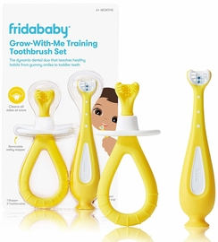 FridaBaby Grow-with-Me Training Toothbrush Set