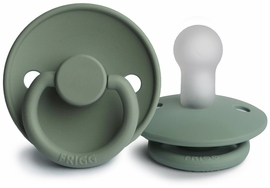 FRIGG Silicone Pacifier - Lily Pad - 0-6 M
