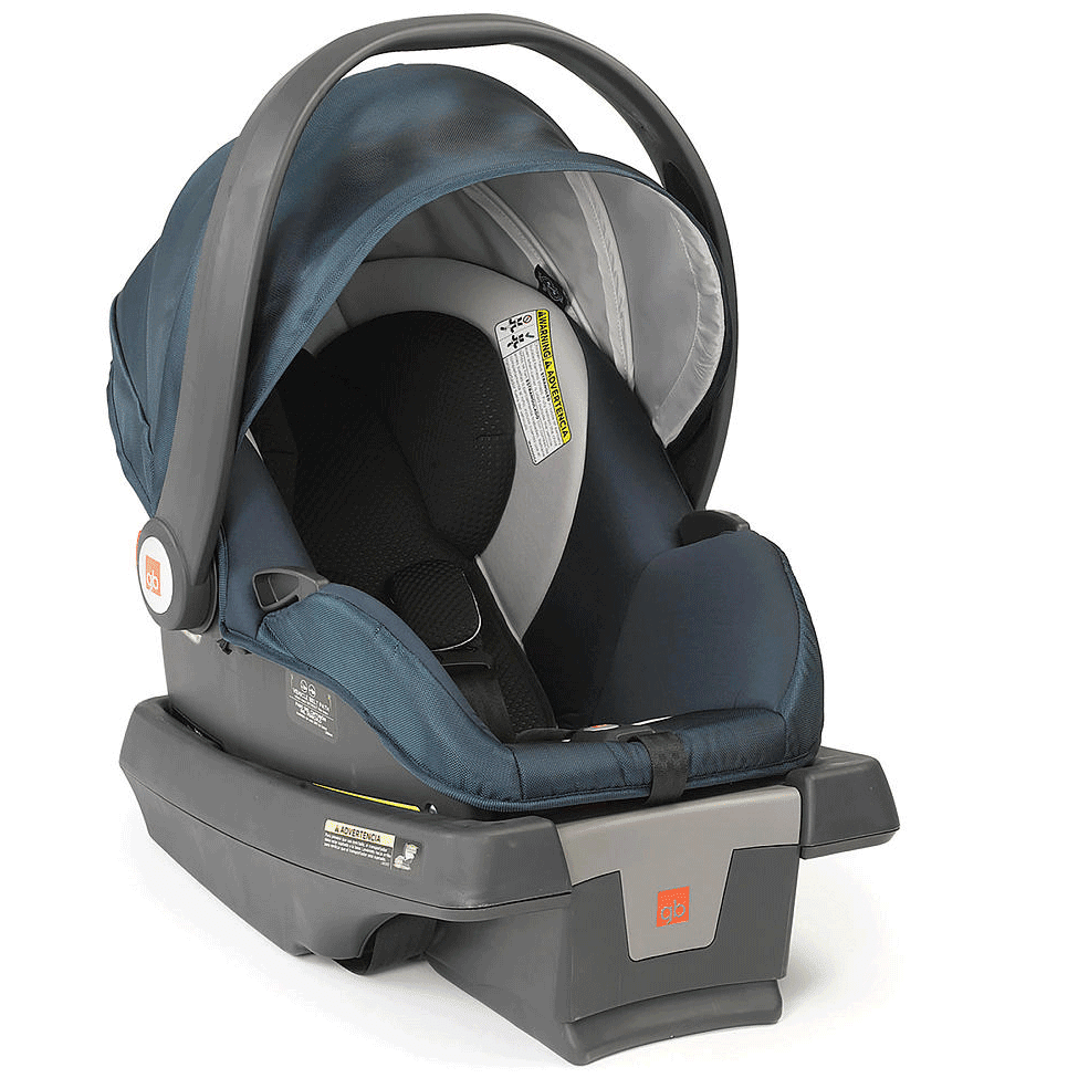 GB Asana DLX Infant Car Seat - Midnight