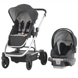 GB EVOQ 4-in-1 Travel System - Charcoal