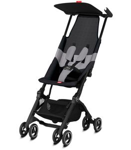 GB Pockit Air All-Terrain Ultra Compact Lightweight Stroller - Velvet Black