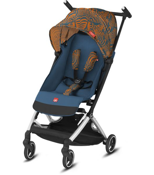 GB Pockit+ All-City Ultra Compact Lightweight Stroller - Atlantic Orange