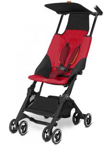 GB Pockit  Ultra Compact Lightweight Stroller - Dragonfire Red