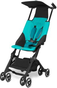 GB Pockit Plus Ultra Compact Lightweight Stroller - Capri Blue