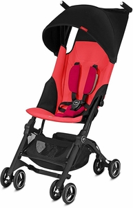 GB Pockit Plus Ultra Compact Lightweight Stroller - Cherry Red