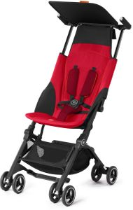 GB Pockit Plus Ultra Compact Lightweight Stroller - Dragonfire Red
