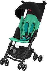GB Pockit Plus Ultra Compact Lightweight Stroller - Laguna Blue