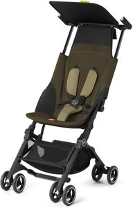 GB Pockit Plus Ultra Compact Lightweight Stroller - Lizard Khaki