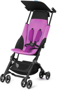 GB Pockit Plus Ultra Compact Lightweight Stroller - Posh Pink
