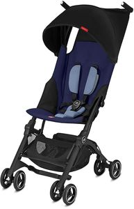 GB Pockit Plus Ultra Compact Lightweight Stroller - Sapphire Blue