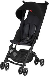 GB Pockit Plus Ultra Compact Lightweight Stroller - Satin Black