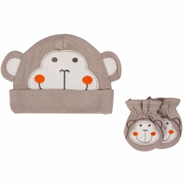 Gerber Boy Novelty Cap & Mitten Set - 0 to 6 Months