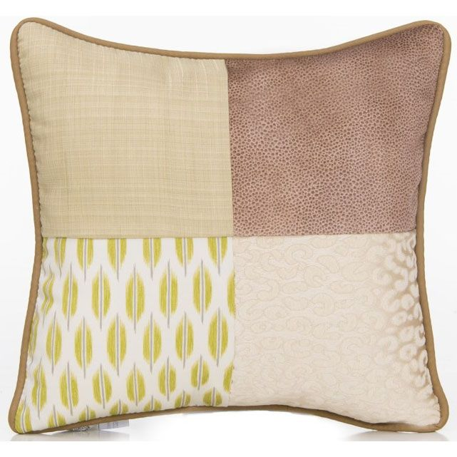 Glenna Jean Cape Town Throw Pillow Patch
