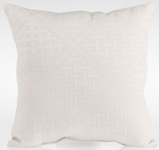 Glenna Jean Millie Throw Pillow Grey Texture