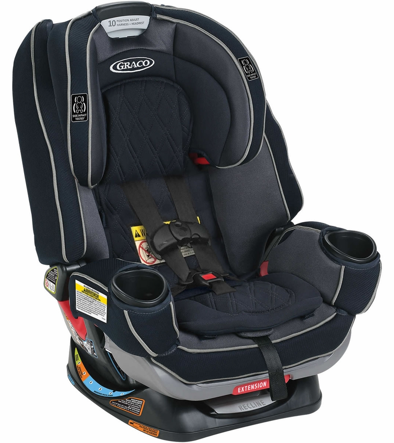 Graco 4Ever Extend2Fit Platinum 4-in-1 Car Seat - Ottlie