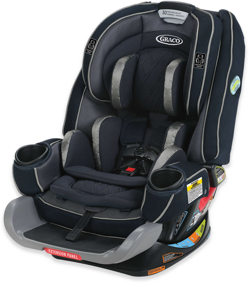 Graco 4Ever Extend2Fit Platinum 4-in-1 Car Seat