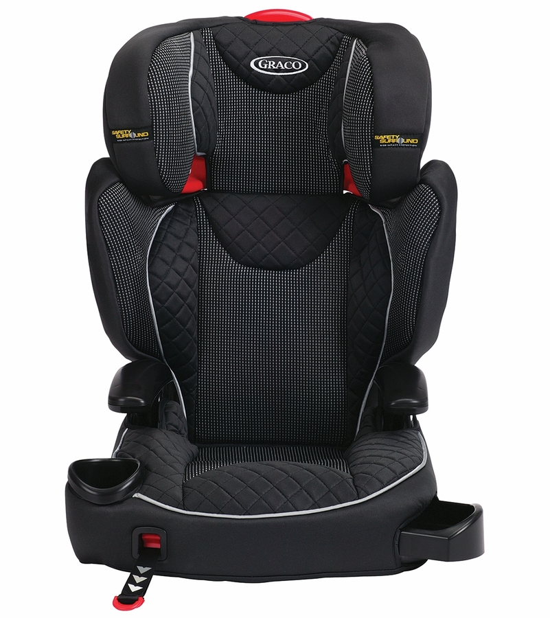 graco affix highback booster car seat with safety surround and latch system stargazer. Black Bedroom Furniture Sets. Home Design Ideas