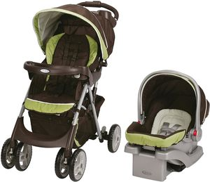 Graco Comfy Cruiser Click Connect Travel System - Go Green