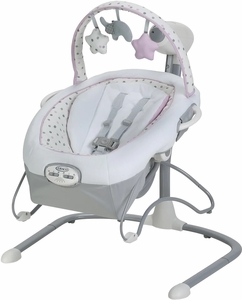Graco Duet Sway LX Swing with Portable Bouncer - Camila